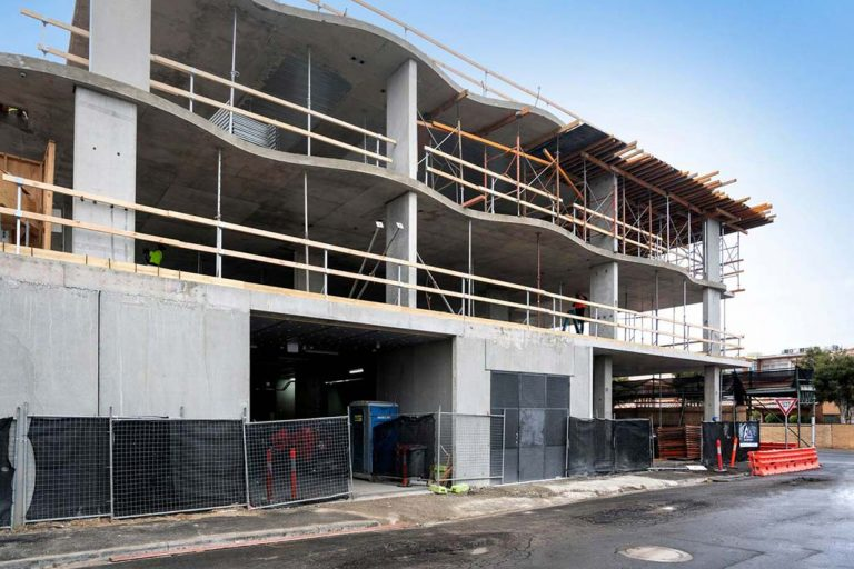 Curvaceous Creation in Yarraville is Starting to Take Shape