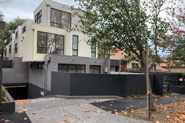 Practical completion at 56 Larnook Street in Prahran