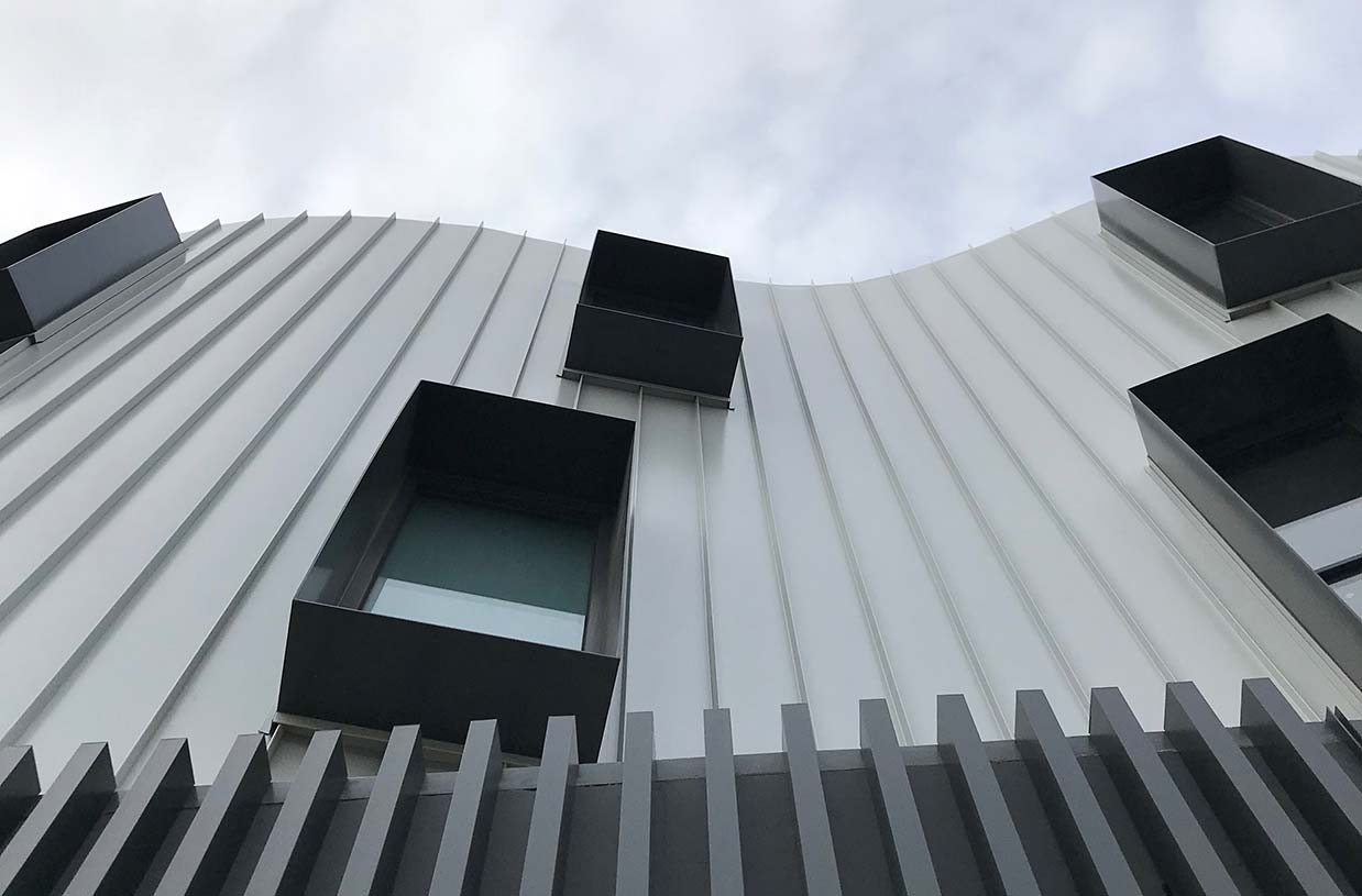 Finishing touches to 28 apartment development in Yarraville