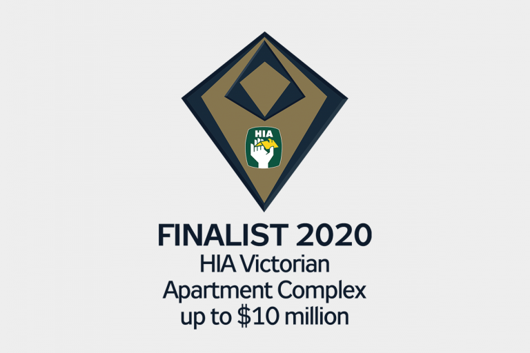 AG Construct announced as a finalist in the 2020 HIA Victorian awards for Apartment Complex up to $10 Million